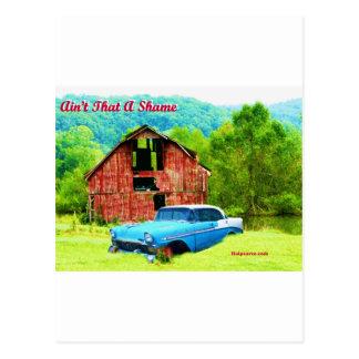 Carte Postale Aint cet AShame Chevrolet 1956