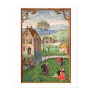 Carte Postale Ajoutez 18855 avril : couples d'amoureux, d'un