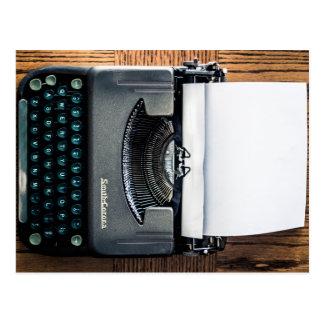 Carte Postale Ajoutez votre propre texte au papier de machine à