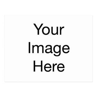Carte Postale Ajoutez votre propre texte ou logo