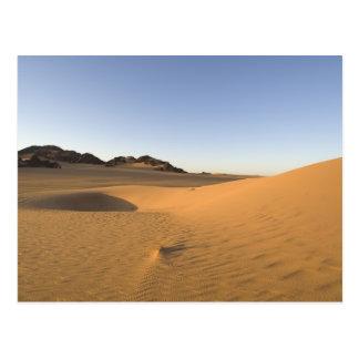 Carte Postale Akakus, désert du Sahara, Fezzan, Libye