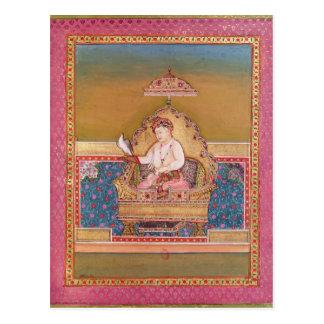 Carte Postale Akbar d'un album des portraits