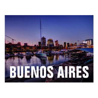 Carte Postale Al Atardecer - canoës de Canoas au coucher du