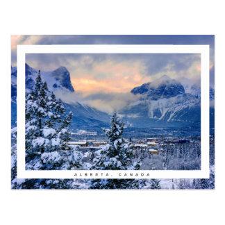 Carte Postale Alberta, Canada