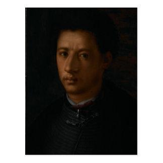 Carte Postale Alessandro de Medici par Jacopo Pontormo.