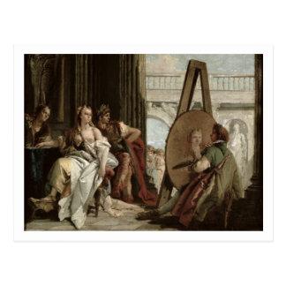 Carte Postale Alexandre et Campaspe à la maison du peintre
