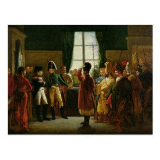 Carte Postale Alexandre I présentant le Kalmuks