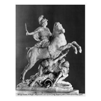 Carte Postale Alexandre victorieux, après 1683