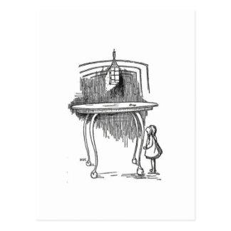 Carte Postale Alice au pays des merveilles 2