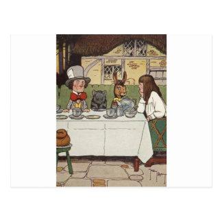 Carte Postale Alice au pays des merveilles 3