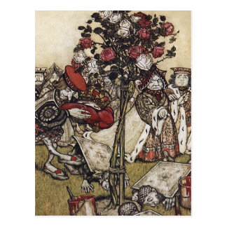 Carte postale : Alice et le pays des merveilles -