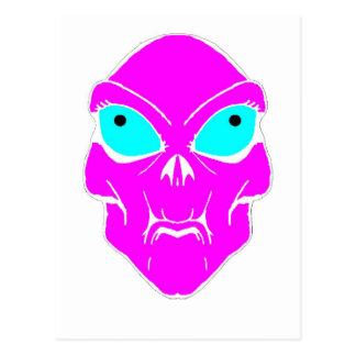 Carte Postale Alien