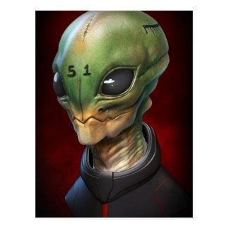 Carte Postale Alien 51