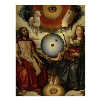 Carte Postale Allégorie du christianisme