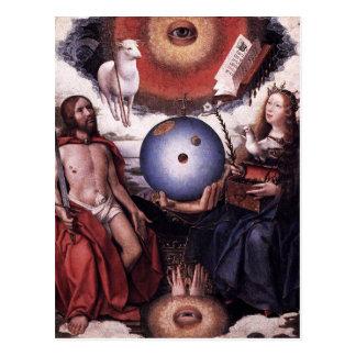 Carte Postale Allégorie du christianisme avant janvier Provoost