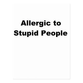 Carte Postale Allergique