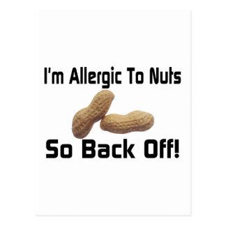 Carte Postale Allergique aux écrous