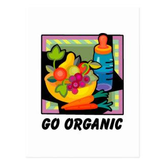 Carte Postale Allez organique