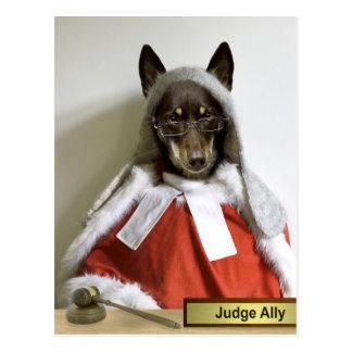 Carte Postale Allié de juge