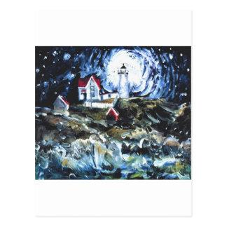 Carte Postale Allumage vers le haut de la nuit