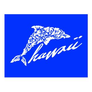 Carte Postale Aloha dauphins d'Hawaï