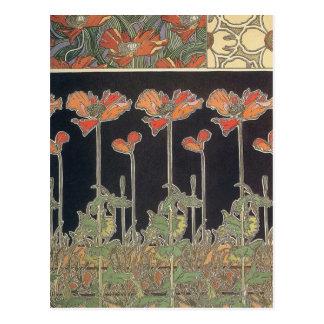 Carte Postale Alphonse Mucha documente Décoratifs GalleryHD