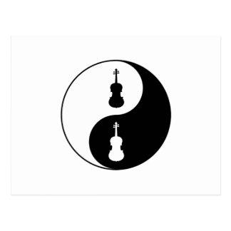 Carte Postale Alto de Yin Yang
