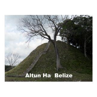 Carte Postale Altun ha, Belize
