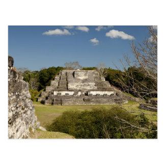Carte Postale Altun ha est un site maya qui remonte à 200
