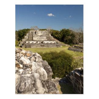 Carte Postale Altun ha est un site maya qui remonte à 200 2