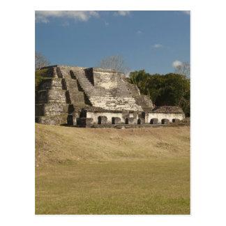 Carte Postale Altun ha est un site maya qui remonte à 200 5