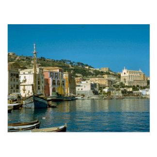 Carte Postale Amalfi, bord de mer