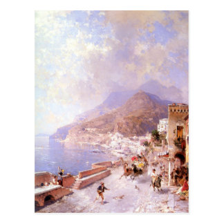 Carte Postale Amalfi par Franz Richard Unterberger