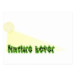 Carte Postale Amant de nature