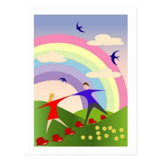 Carte Postale Amants