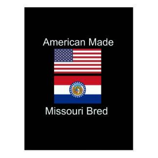 """Carte Postale """"Américain soutenu. Le Missouri a multiplié la"""""""