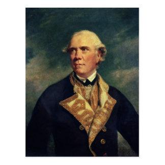 Carte Postale Amiral Barrington 1779