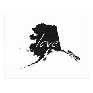 Carte Postale Amour Alaska