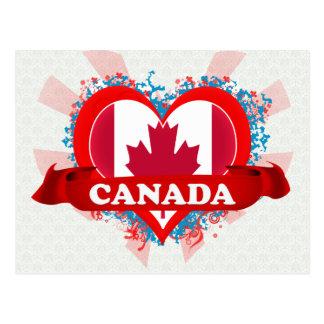 Carte Postale Amour Canada du cru I