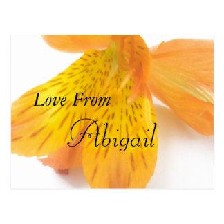 Carte Postale Amour d'Abigaïl