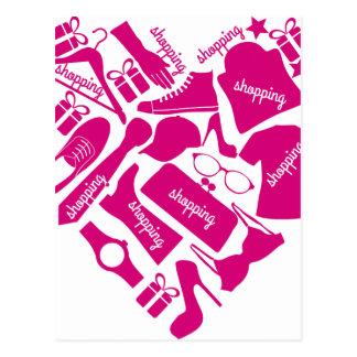 Carte Postale Amour d'achats