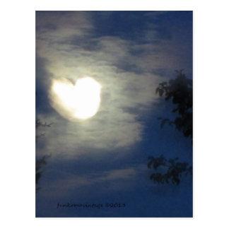 Carte Postale Amour de lune