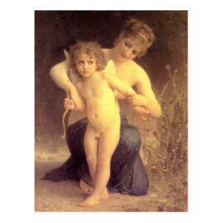 Carte Postale Amour désarmé - Bouguereau