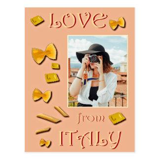 Carte Postale Amour d'Italie
