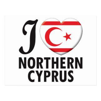 Carte Postale Amour du nord de la Chypre