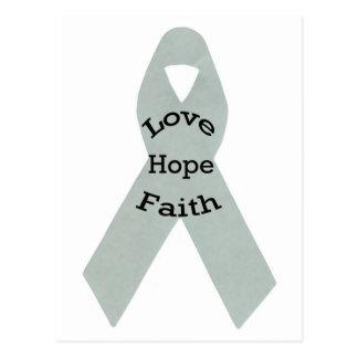 Carte Postale Amour, espoir, foi