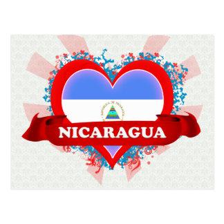 Carte Postale Amour Nicaragua du cru I
