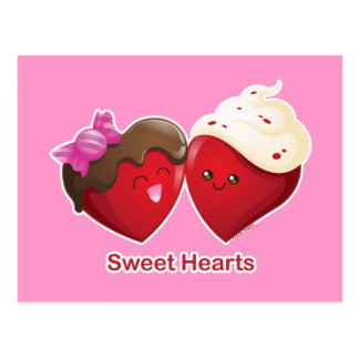 Carte Postale Amoureux de Saint-Valentin