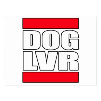 Carte Postale amoureux des chiens de délivrance d'animal
