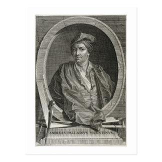 Carte Postale Andrea Palladio (1508-80) gravé par pica de